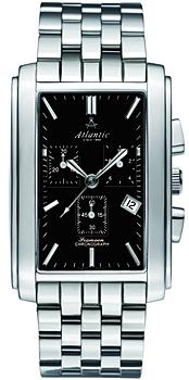 Швейцарские наручные  мужские часы Atlantic 67445.41.61. Коллекция Seamoon