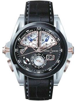 Швейцарские наручные  мужские часы Ulysse Nardin 675-00