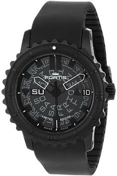 Швейцарские наручные  мужские часы Fortis 675.18.81K. Коллекция Aquatis