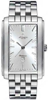 Швейцарские наручные  мужские часы Atlantic 67745.41.21. Коллекция Seamoon