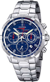 fashion наручные  мужские часы Festina 6836.3. Коллекция Chronograph