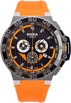 Швейцарские наручные  мужские часы Doxa 700.10.351.21. Коллекция Aqua
