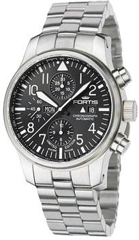Швейцарские наручные  мужские часы Fortis 701.10.81M. Коллекция Aquatis