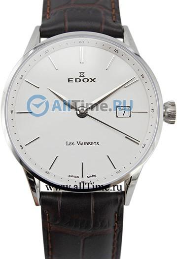 Мужские наручные швейцарские часы в коллекции Les Vauberts Edox