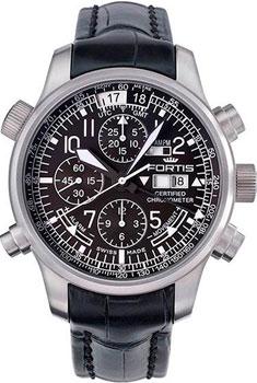 Швейцарские наручные  мужские часы Fortis 703.10.11LF. Коллекция F-43 Flieger