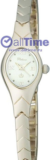 Женские наручные золотые часы в коллекции Часы в корпусе из белого золота Platinor