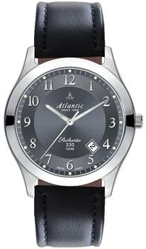 Швейцарские наручные  мужские часы Atlantic 71360.41.43. Коллекция Seahunter 100