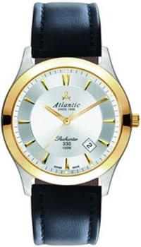 Швейцарские наручные  мужские часы Atlantic 71360.43.21G. Коллекция Seahunter