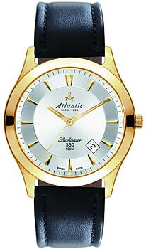 Швейцарские наручные  мужские часы Atlantic 71360.45.21. Коллекция Seahunter