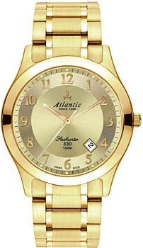 Швейцарские наручные  мужские часы Atlantic 71365.45.33. Коллекция Seahunter 100