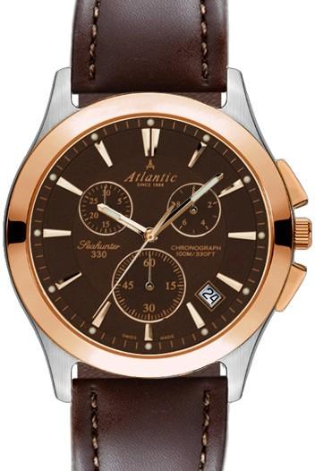 Мужские наручные швейцарские часы в коллекции Seahunter Atlantic