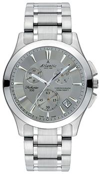 Швейцарские наручные  мужские часы Atlantic 71465.41.41. Коллекция Seahunter
