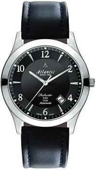 Швейцарские наручные  мужские часы Atlantic 71760.41.65. Коллекция Seahunter