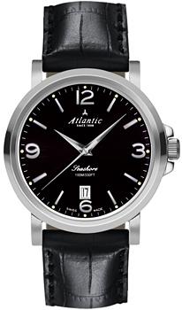 Швейцарские наручные  мужские часы Atlantic 72360.41.65. Коллекция Seashore