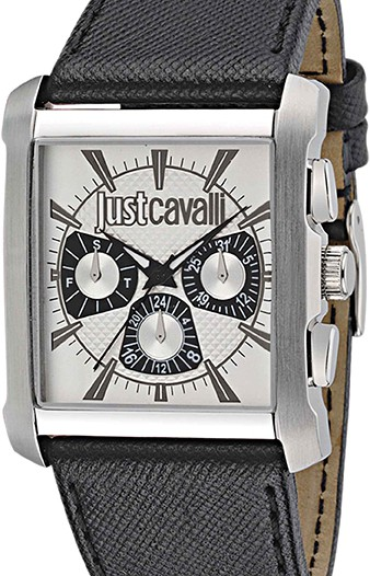 Мужские наручные fashion часы в коллекции Leather Strap Just Cavalli