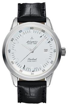 Швейцарские наручные  мужские часы Atlantic 73360.41.21. Коллекция Seacloud
