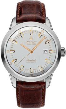 Швейцарские наручные  мужские часы Atlantic 73360.41.21R. Коллекция Seacloud