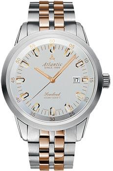 Швейцарские наручные  мужские часы Atlantic 73365.43.21R. Коллекция Seacloud