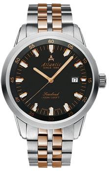 Швейцарские наручные  мужские часы Atlantic 73365.43.61R. Коллекция Seacloud