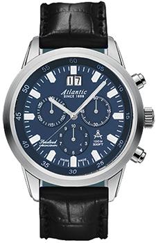 Швейцарские наручные  мужские часы Atlantic 73460.41.51. Коллекция Seacloud
