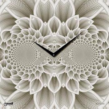 Настенные часы  Lowell 7402. Коллекция Glass