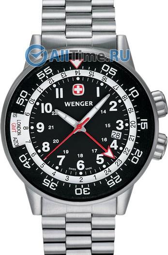 Мужские наручные швейцарские часы в коллекции Commando Wenger