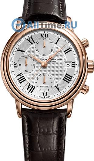 Мужские наручные швейцарские часы в коллекции Maestro Raymond Weil