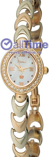 Женские наручные золотые часы в коллекции Oval Platinor