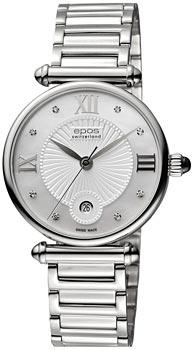 Швейцарские наручные  женские часы Epos 8000.700.20.88.30. Коллекция Quartz