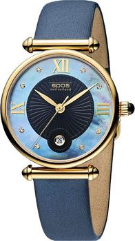Швейцарские наручные  женские часы Epos 8000.700.22.85.86. Коллекция Quartz