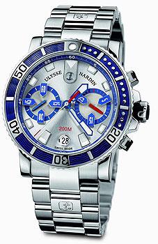 Швейцарские наручные  мужские часы Ulysse Nardin 8003-102-7-91