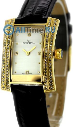 Женские наручные швейцарские часы в коллекции Leather Sophistication Continental