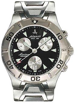 Швейцарские наручные  мужские часы Atlantic 80466.41.62. Коллекция Mariner