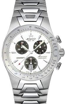 Швейцарские наручные  мужские часы Atlantic 80475.41.12. Коллекция Mariner
