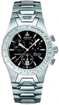Швейцарские наручные  мужские часы Atlantic 80475.41.61. Коллекция Mariner