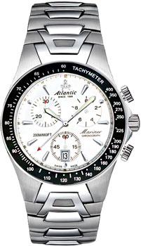 Швейцарские наручные  мужские часы Atlantic 80476.41.21. Коллекция Mariner