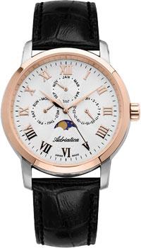 Швейцарские наручные  мужские часы Adriatica 8134.R233QF. Коллекция Multifunction