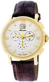 Швейцарские наручные  мужские часы Adriatica 8135.1263CH. Коллекция Chronograph