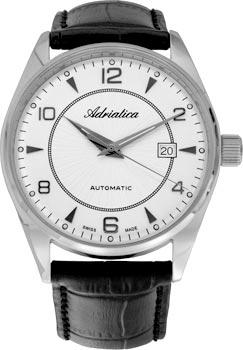 Швейцарские наручные  мужские часы Adriatica 8142.5253A. Коллекция Gents