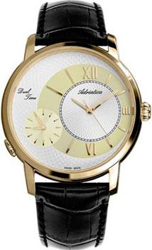 Швейцарские наручные  мужские часы Adriatica 8146.1263Q. Коллекция Gents