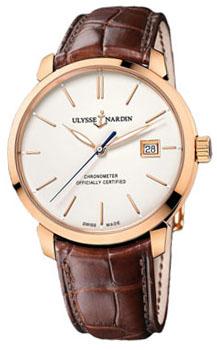 Швейцарские наручные  мужские часы Ulysse Nardin 8156-111-2-91