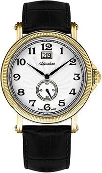 Швейцарские наручные  мужские часы Adriatica 8160.1223Q. Коллекция Gents