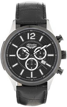 Швейцарские наручные  мужские часы Adriatica 8188.Y254CH. Коллекция Chronograph