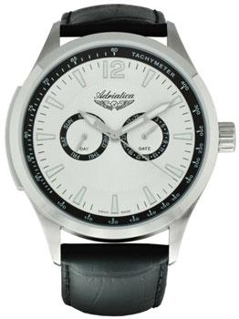 Швейцарские наручные  мужские часы Adriatica 8189.5253QF. Коллекция Multifunction