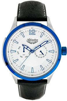 Швейцарские наручные  мужские часы Adriatica 8189.52B3QF. Коллекция Gents