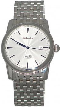 Швейцарские наручные  мужские часы Adriatica 8194.51B3Q. Коллекция Gents