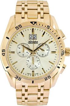 Швейцарские наручные  мужские часы Adriatica 8202.1111CH. Коллекция Chronograph