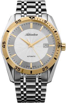 Швейцарские наручные  мужские часы Adriatica 8202.2113A. Коллекция Automatic