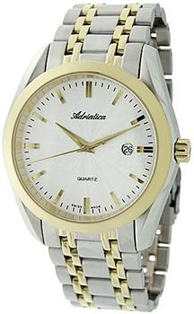Швейцарские наручные  мужские часы Adriatica 8202.2113Q. Коллекция Gents