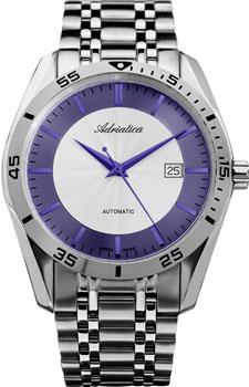 Швейцарские наручные  мужские часы Adriatica 8202.51B3A. Коллекция Automatic